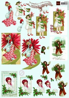 VK9515 Marianne  Kerst Vintage