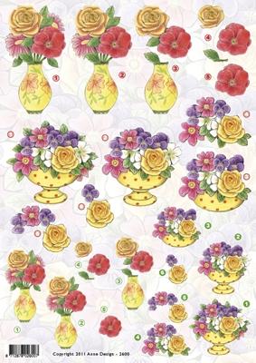 VB2600 Bloemenvaasjes