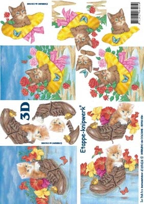 4169424 LeSuh D3 Kitten in laars