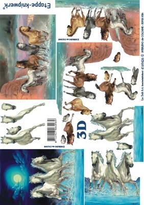 4169426 LeSuh 3D Wilde paarden