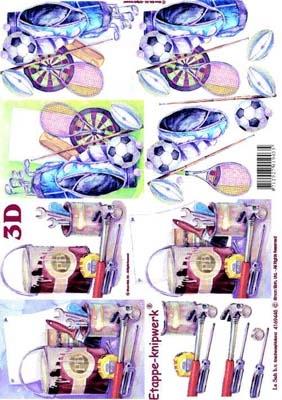 4169445 LeSuh 3D Hobby artikelen