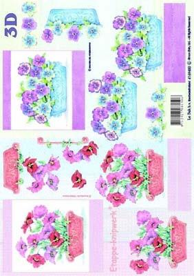 4169450 LeSuh 3D Bloemen