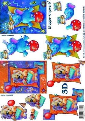 4169452 LeSuh 3D Dierencircus