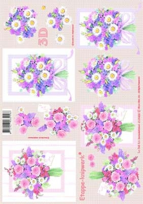 4169458 LeSuh 3D Bloemen