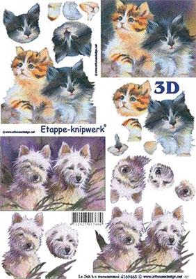 4169465 LeSuh 3D Pups/Kittens