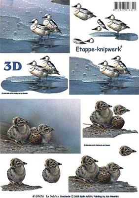 4169476 LeSuh 3D Vogels
