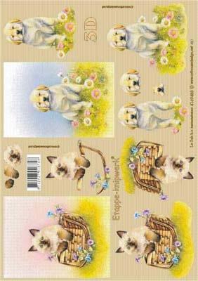 4169488 LeSuh 3D Hond/Poes