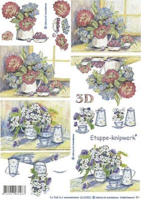 4169501 LeSuh 3D Bloemen