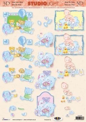 STT678 Studio Light Baby Jongen