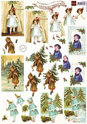 VK9516 Marianne  Kerst Vintage