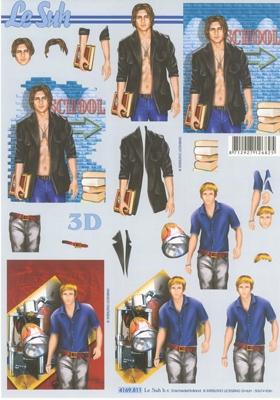 4169811 LeSuh Jongeman in Jeans