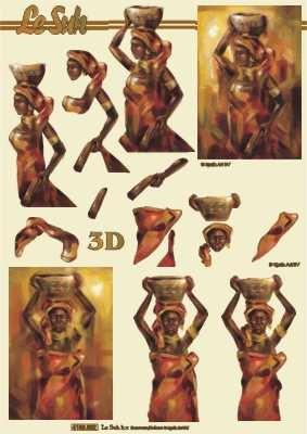 4169892 LeSuh Afrikaanse Dame