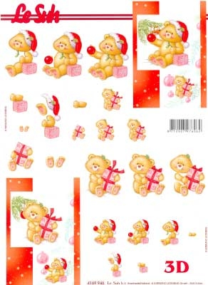 4169946 LeSuh Kerstbeertjes