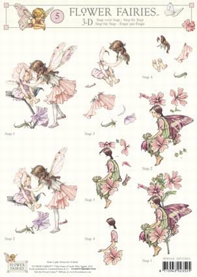 3DFFSTAP05 Studio Light Flower Fairies 05
