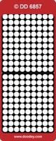 DD6857G Stickers Randen Goud
