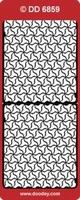 DD6859Z Sticker Randen Zilver