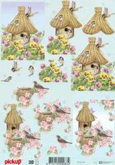 P059 Vogelhuis + Nest