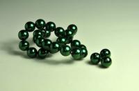 5010074  10 X Glasparel donker groen 10mm.