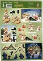 504062 Knipvel  Leane Creatief Mylo & Friends Kerst