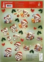 504086 Knipvel  Leane Creatief Mylo & Friends Kerst