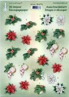 506776 Knipvel  Leane Creatief Knipvel kerst