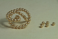 5010091  50 X Glasparel Champagne 4mm.
