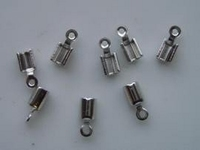 11808-1561 8x veterklemmen 3mm staalkleur
