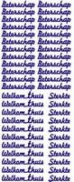 ST016Z Sticker Beterschap Zilver
