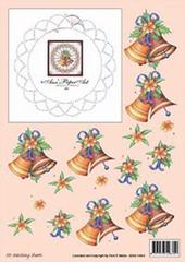 3DSS10010 Ann's Paper Art Kerstklokken Borduren
