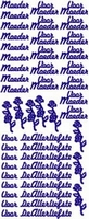 ST078WM Sticker Voor Moeder Wim/Multi