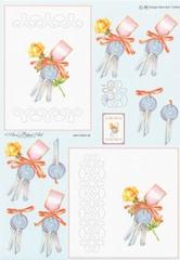 AN115083 Ann's Paper Art Sleutels Borduren