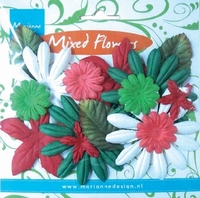 CP8962 Mixed Flowers Marrianne Design Christmas