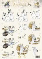 STAPANIMALS11 Animals Studio Light