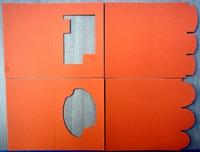PP07- 4 Passe Partout Kaarten Oranje