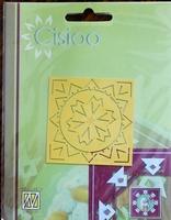 C1007 Cisioo borduurmal niet voor Machine