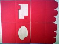 PP09- 4 Passe Partout Kaarten Rood