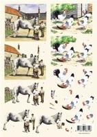 VB8614 Paarden