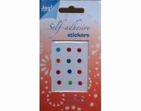 60220031 Joy Adh.Stickers Diverse kleuren