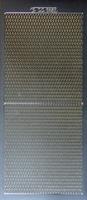 DD 6853Z Sticker ruitjes Zilver