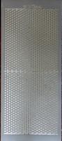 DD 6854Z  Sticker 6 hoekjes Zilver