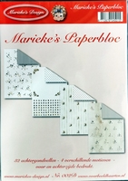 N2 Marieke`s Paperbloc 32 vel A5 karton 4 vers. Motieven