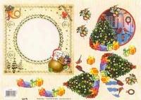 TBZ572300 Embossed Kerst