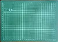 A4 Snijmat met CM verdeling