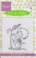 DDS3323 Clearstamp Marianne Design Don & Daisy