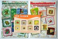 2 Voorbeeldkaarten boeken Nr.7,8 + Gratis F&F Kreatief 8