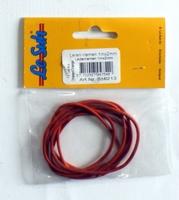 516213 Leerkoord 1 meterX2mm Oranje