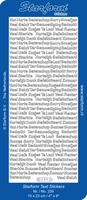 ST239Z Starfor veel verschillende teksten