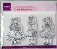 TC0811 Clearstamp Marianne Design Little Sweethearts