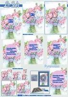 630006 Le Suh Pyramids bloemen