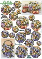 630084 Le Suh Pyramids bloemen